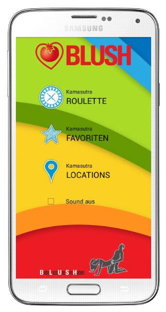 BLUSH Kamasutra Android App, free download kostenlos